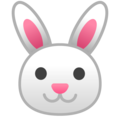 Rabbit Face on Google Android 8.0