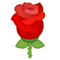 Rose on Google Android 8.0