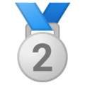 2nd Place Medal on Google Android 8.0