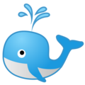 Spouting Whale on Google Android 8.0