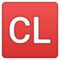 CL Button on Google Android 8.0