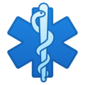 Medical Symbol on Google Android 8.0