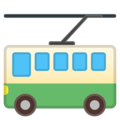 Trolleybus on Google Android 8.0