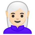 Woman Elf: Light Skin Tone on Google Android 8.0