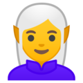 Woman Elf on Google Android 8.0