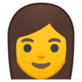 Woman on Google Android 8.0