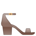 Woman's Sandal on Google Android 8.0
