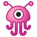 Alien Monster on Google Android 8.1