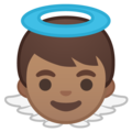 Baby Angel: Medium Skin Tone on Google Android 8.1