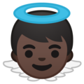 Baby Angel: Dark Skin Tone on Google Android 8.1