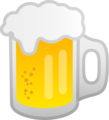 Beer Mug on Google Android 8.1