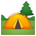Camping on Google Android 8.1