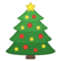 Christmas Tree on Google Android 8.1