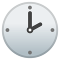Two O'clock on Google Android 8.1