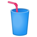 Cup With Straw on Google Android 8.1
