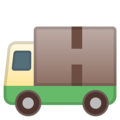 Delivery Truck on Google Android 8.1