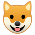 Dog Face on Google Android 8.1