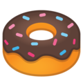 Doughnut on Google Android 8.1