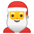 Santa Claus on Google Android 8.1