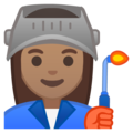 Woman Factory Worker: Medium Skin Tone on Google Android 8.1