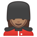 Woman Guard: Medium Skin Tone on Google Android 8.1
