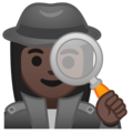 Woman Detective: Dark Skin Tone on Google Android 8.1