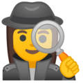 Woman Detective on Google Android 8.1