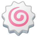 Fish Cake With Swirl on Google Android 8.1