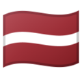 Latvia on Google Android 8.1