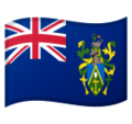 Pitcairn Islands on Google Android 8.1