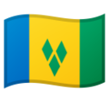 St. Vincent & Grenadines on Google Android 8.1