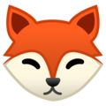 Fox Face on Google Android 8.1