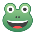 Frog Face on Google Android 8.1