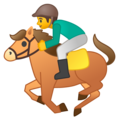 Horse Racing on Google Android 8.1