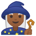Mage: Medium-Dark Skin Tone on Google Android 8.1