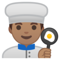 Man Cook: Medium Skin Tone on Google Android 8.1