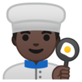 Man Cook: Dark Skin Tone on Google Android 8.1