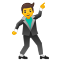 Man Dancing on Google Android 8.1