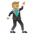 Man Dancing: Medium-Light Skin Tone on Google Android 8.1
