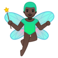 Man Fairy: Dark Skin Tone on Google Android 8.1