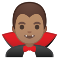 Man Vampire: Medium Skin Tone on Google Android 8.1