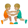 Men Wrestling, Type-3 on Google Android 8.1