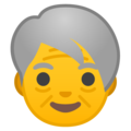 Older Adult on Google Android 8.1