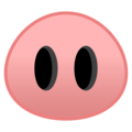 Pig Nose on Google Android 8.1