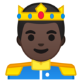 Prince: Dark Skin Tone on Google Android 8.1