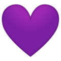 Purple Heart on Google Android 8.1