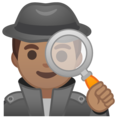 Detective: Medium Skin Tone on Google Android 8.1