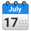 Spiral Calendar on Google Android 8.1