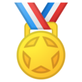 Sports Medal on Google Android 8.1