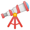 Telescope on Google Android 8.1